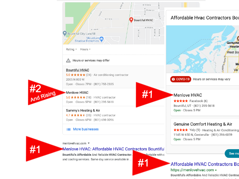 Affordable Local SEO Services Results
